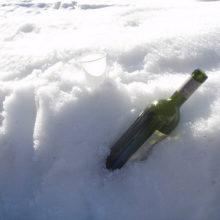 Прием алкоголя в мороз опасен