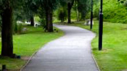 Медитация во время ходьбы.