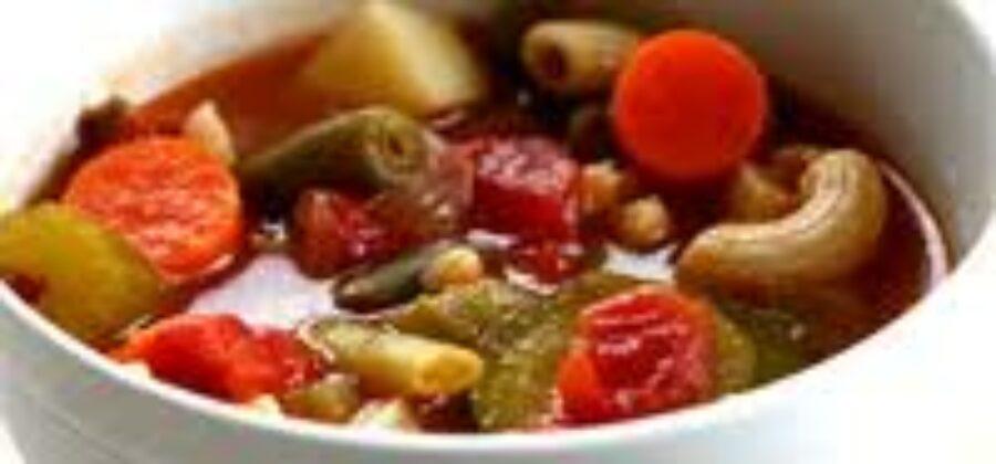 Суп минестроне для долгожителей