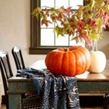 Идеи для украшения дома осенью