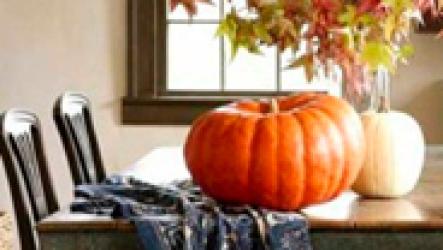 Идеи для украшения дома осенью.
