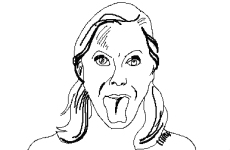 Гимнастика для языка укрепляет десна и улучшает дикцию.