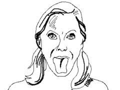 Гимнастика для языка укрепляет десна и улучшает дикцию