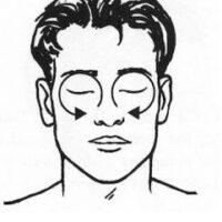 Массаж акупунктурных точек при аллергии