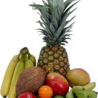 Фрукты для похудения-ананас