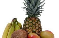 Фрукты для похудения-ананас.