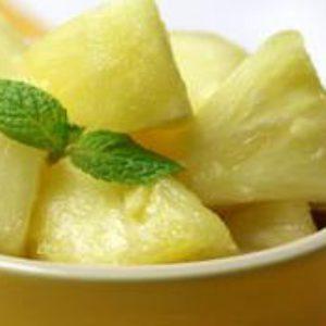 Салат для похудения с ананасом и имбирем.