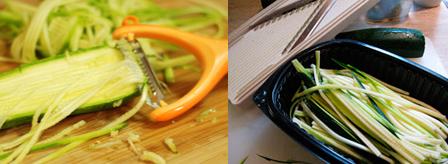 спагетти из кабачков приготовление