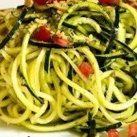 Спагетти из кабачков: раз, два, три и готово