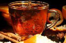 Чай с эфирным маслом апельсина.