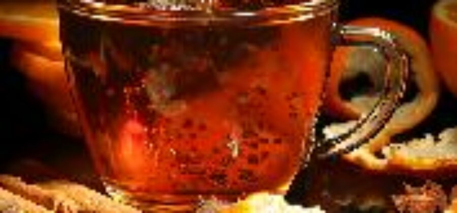 Чай с эфирным маслом апельсина