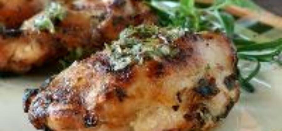Куриная грудка с французскими травами