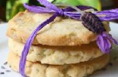 Печенье к чаю с лавандой рецепт.