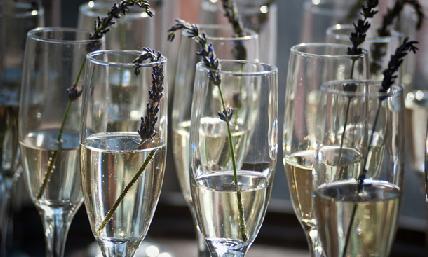 лаванда в шампанском
