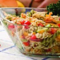 Салат с пастой по-итальянски