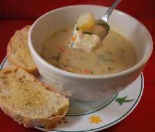 суп пюре рыбный