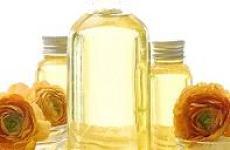 Значение масла для сухой кожи.