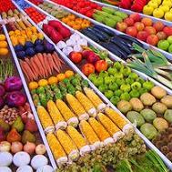 цветная еда