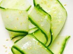 Огуречный салат по-японски