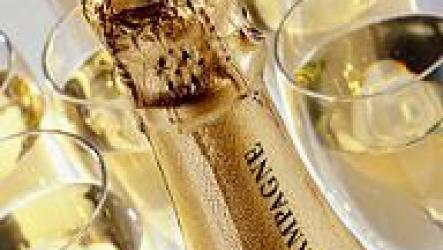 Как подавать шампанское, секрет успеха.