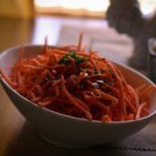 Салат из тыквы и моркови, просто и полезно