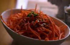 Салат из тыквы и моркови, просто и полезно.