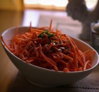 салат из тыквы и моркови