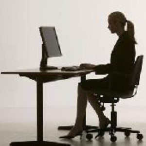 Упражнения при сидячей работе.