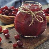 Как сварить желе из клюквы с яблоками