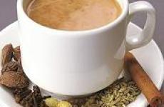 Как пьют масала чай