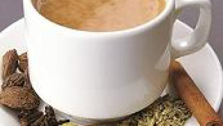Как пьют масала чай.