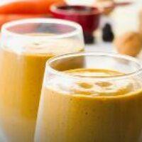 Морковный смузи на завтрак