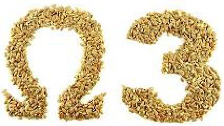 Растительные источники омега-3 жирных кислот.