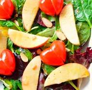 салат яблоки и помидоры