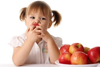 яблоки и дети