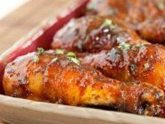 Курица с медом и горчицей— самый простой рецепт