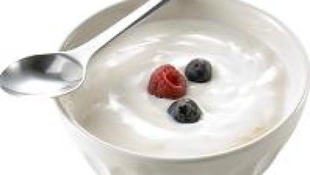 Польза натурального йогурта.