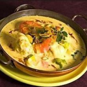 Буррида или рыба с овощами.