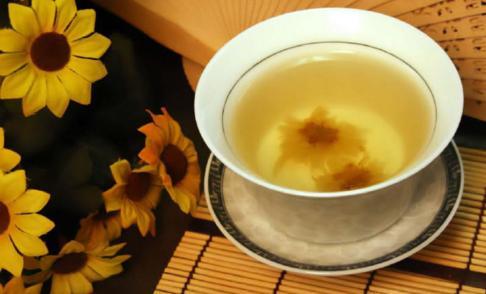 чай из хризантем
