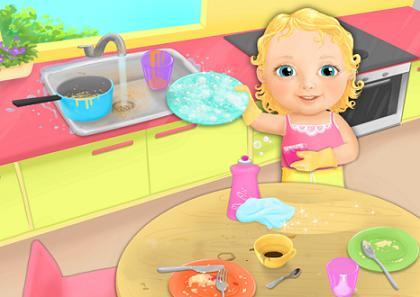 мытье детской посуды