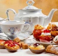 пить чай в Англии