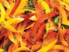Как тушить болгарский перец