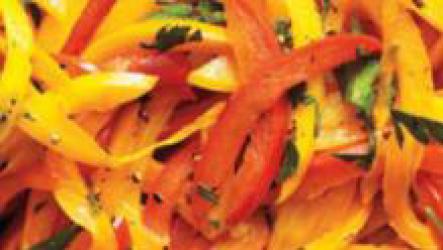 Как тушить болгарский перец?