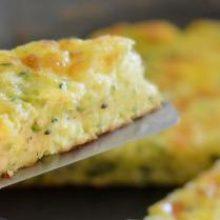 Итальянский омлет с кабачками и сыром