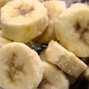 Замороженные бананы.