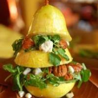 Груша с сыром необычный десерт