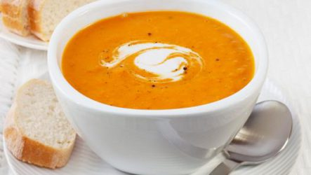 Суп из тыквы и моркови. Никакой химии, только натуральные ингредиенты!