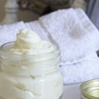 Домашний крем для тела на основе кокосового масла