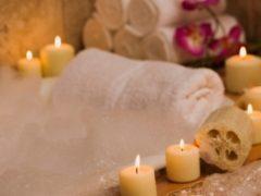 Расслабляющая ванна с маслом лаванды и английской солью