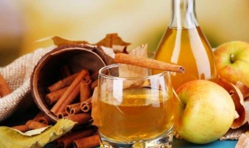 вода с медом и корицей